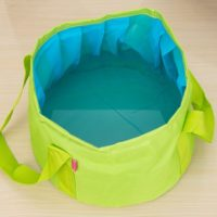 12L Portable Folding Wash Basin Bucket