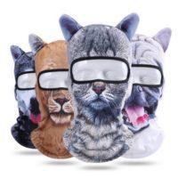 3D Animal Balaclava Face Mask Breathable