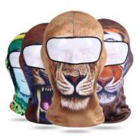3D Animal Snowboard Balaclava Ski Face Cover