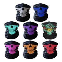 Breathable Seamless Tube Skull Face Mask