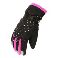 Female Waterproof Winter Gloves
