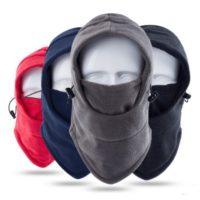 Heavyweight Fleece Balaclava Windproof Ski Face Mask
