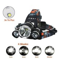 LED Headlamp 6000 Lumen flashlight