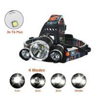 LED Headlamp 6000 Lumen flashlight