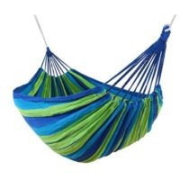 Camping Hammock Cotton Fabric Swing Beds