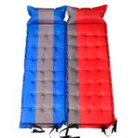 Inflatable Camping Mattress Pillow Air Mat Pad