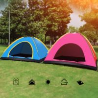 Family Size Hiking Camping Anti UV Sun Shelter