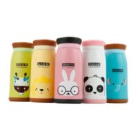 Stainless Steel Cartoon Pattern Kids Thermoses