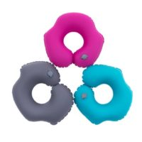 Flying Multi Traveling Foldable Self Inflating Neck Pillow