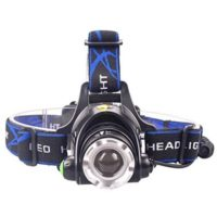 Zoomable 3 Modes Super Bright LED Headlamp
