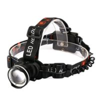 Zoomable LED Headlight 3 Mode Head torch