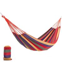 1 person thick canvas camping hammock