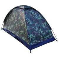 1 Person Cheap Camping Trip Camouflage Tent