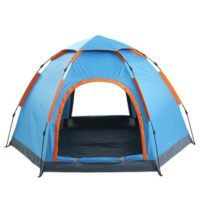 5 Person Automatic Instant Setup Family Tent