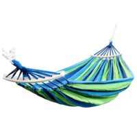 Portable Beach Swing Bed with Hardwood Spreader Bar