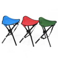 Portable Stable Travel Chair Tri-Leg Stool