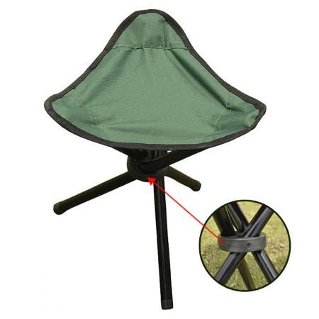 Portable Stable Travel Chair Tri Leg Stool Himron