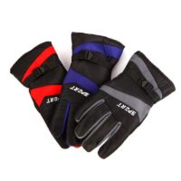 OEM adjustable wrist thinsulate liner waterproof winter ski gloves