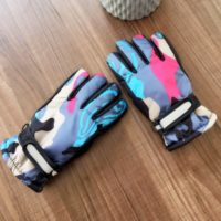 Kids Lovely Printing Winter Ski Gloves