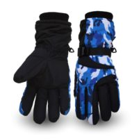 Winter unisex five fingers Waterproof Ski Gloves Wholesale